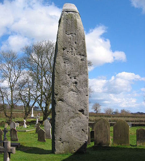 Rudston Monolith (Pic: Stephen Horncastle)