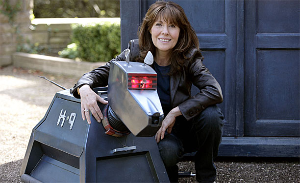 Sarah Jane Smith and K9 (Pic: BBC)