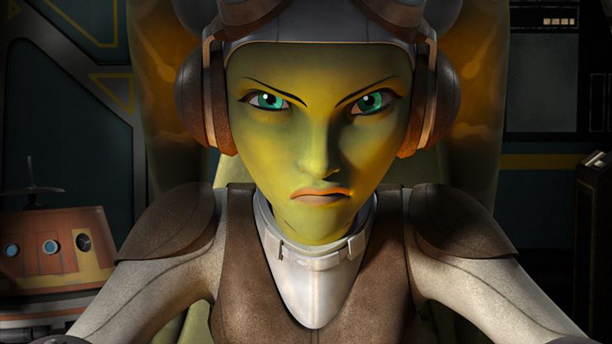 Hera, voiced by Vanessa Marshall, in 'Star Wars Rebels' (Photo: LucasFilm)