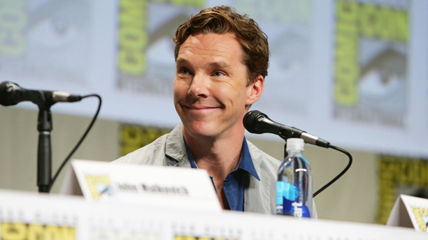 Benedict Cumberbatch at Comic-Con 2014. (Photo by Eric Charbonneau/Invision for Twentieth Century Fox/AP Images)