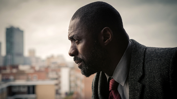 Idris Elba and Ruth Wilson on 'Luther' (Photo: BBC)