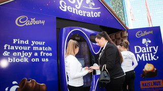 Cadbury Vending Machine, Life Size