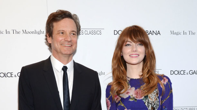 Colin Firth, Emma Stone