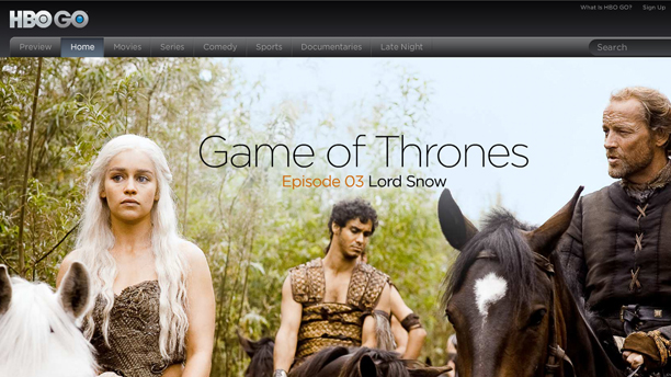 """It's HBO. Anywhere."" (HBO GO)"