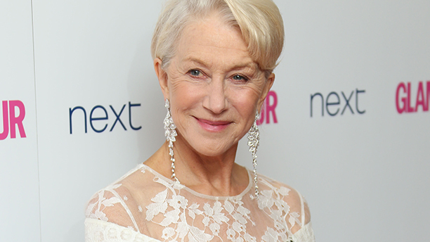 Dame Helen Mirren arrives for the Glamour Magazine Women Of The Year Awards at Berkeley Square Gardens in central London, Tuesday, June 3, 2014.(Photo by Joel Ryan/Invision/AP)