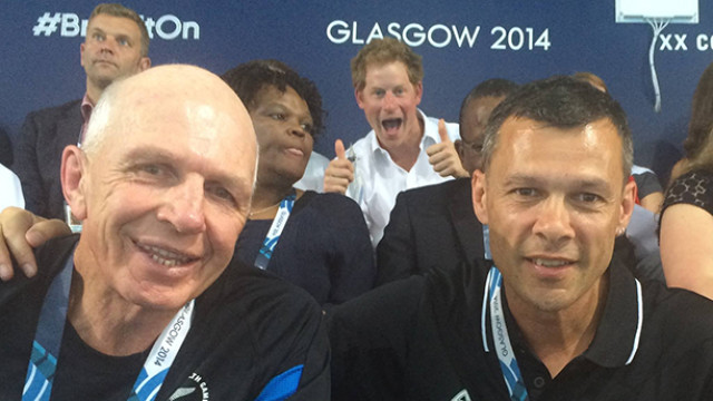 Prince Harry Photobomb