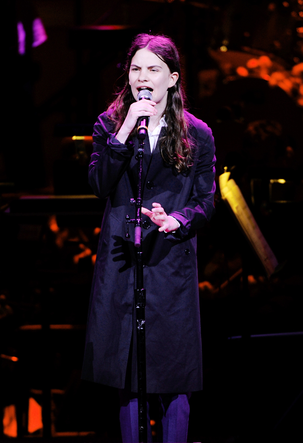 Singer Eliot Sumner, Sting's daughter,  performs at the 25th Anniversary Rainforest Fund benefit concert at Carnegie Hall on Thursday, April 17, 2014 in New York. (Photo by Evan Agostini/Invision/AP)