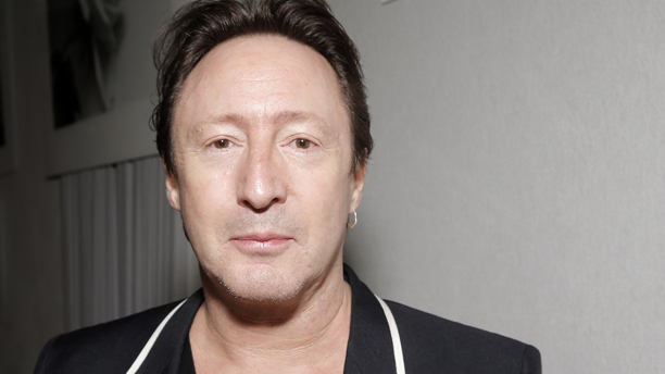 Musician Julian Lennon poses at the  LOVA World Images Exhibition closing party at the 66th international film festival, in Cannes, southern France, Wednesday, May 22, 2013. (Photo by Todd Williamson/Invision/AP)