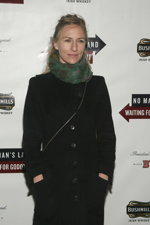 "Micky Sumner -  November 24, 2013 - Opening Night Arrivals for ""Waiting for Godot"" & ""No Man's Land"" held at Cort Theatre, NYC.. Photo Credit: Sylvain Gaboury/PatrickMcMullan.com/Sipa USA"