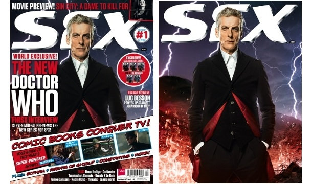 SFX Magazine's Doctor Who covers