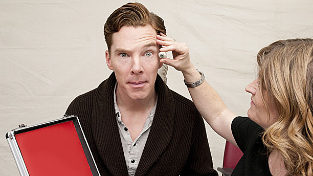 Benedict Cumberbatch and extra eye (Pic: Rex Features)