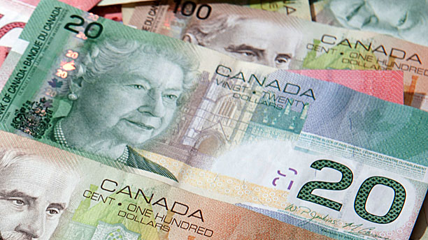 Canadian currency (Pic: AP Images)