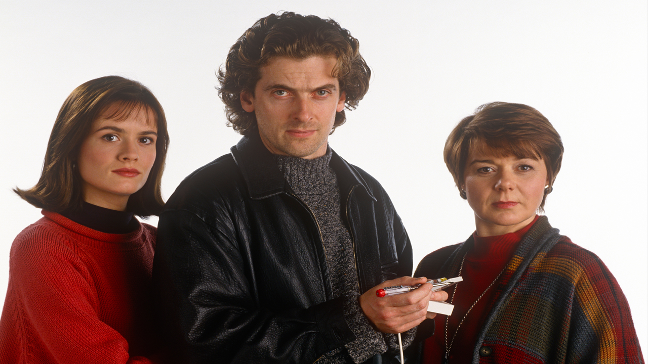 1994: Chandler and Co. Capaldi appeared in six episodes of Chandler and Co. as Larry Blakeson. Note: the luscious curls are still intact, but lighter, going from jet black to a more chestnut hue.