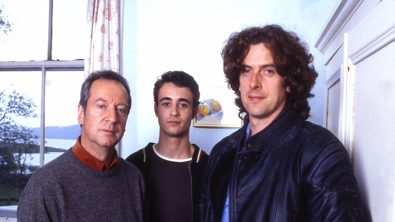 1996: The Crow Road As Rory McHoan (yes, Rory!) in Crow Road, Peter Capaldi plays Prentice McHoan's missing uncle who visits Prentice through a narrative device. The curls are back in full force. Thanks, Peter.