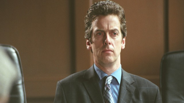 2003: Judge John Deed Capaldi is Alan Roxburgh in the crime-drama, Judge John Deed. Capaldi is sporting the short-do with which which we've become familiar. Sans goatee.