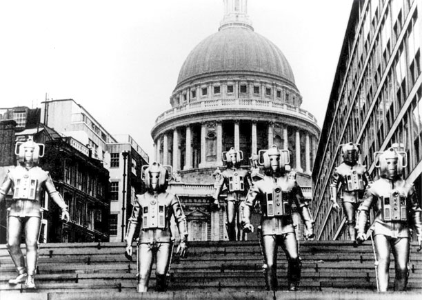 Cybermen in 'The Invasion' (Pic: BBC)