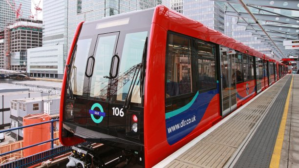 A DLR train (Pic: Transport for London)