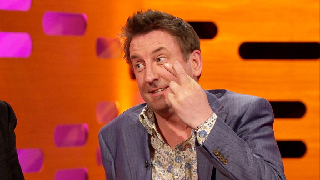 LEE MACK 7 Appearances (Tie)  You can always count on a little dry Brit wit at the end of the red couch (often at the expense of the American guests!) and Lee Mack -- born Lee McKillop -- has been providing it since his first appearance in Season 7 in 2010. Our fingers are crossed for an eighth appearance soon too, Lee!  But wait -- he's not alone...