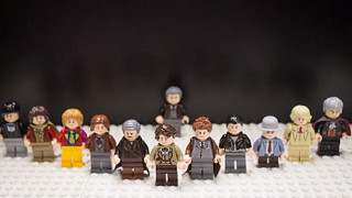 The Lego 'The Day of the Doctor'