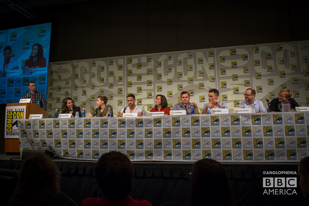 The 'Orphan Black' cast at Comic-Con