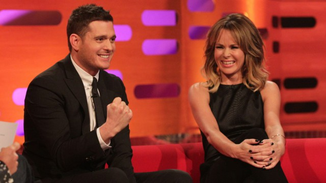 Michael Buble Four Appearances He croons. We swoon. Again and again.