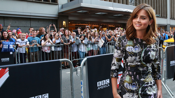 Jenna Coleman. (Photo: Amy Sussman for BBC AMERICA)