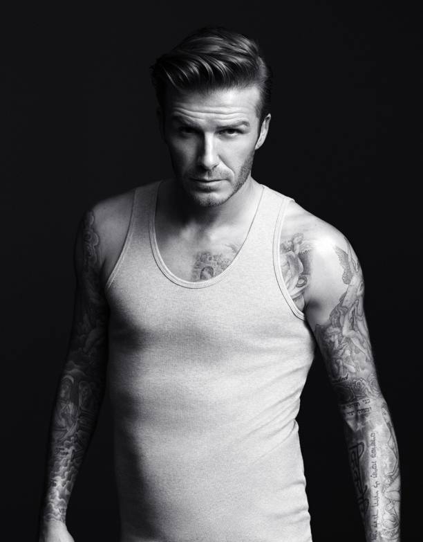 David Beckham, Undershirt, 1