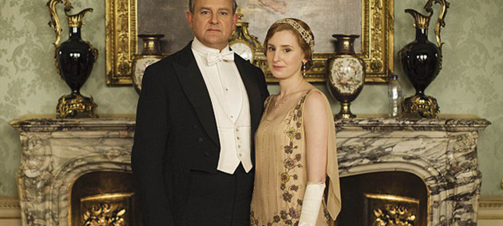 Downton Abbey, Water Bottle, Cropped
