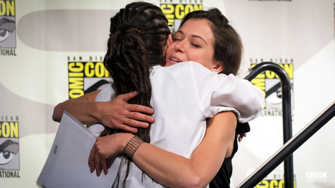 "During the panel fan Q&A, a young woman came forward to thank Tatiana for giving her the courage to come out. ""My parents weren't OK with me being gay, and I watched the show with my mom, and it's helped us rebuild our relationship,"" explained the fan. It was a particularly touching moment that had Tatiana, along with most of the audience, in tears."