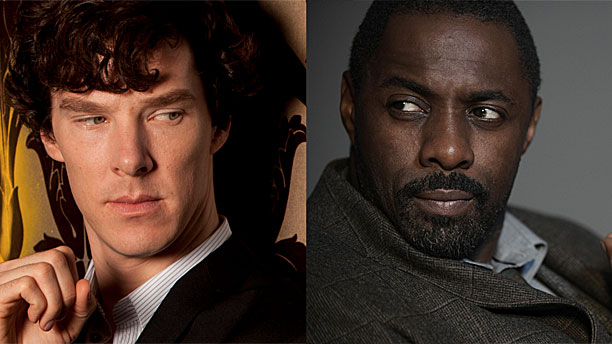 Two Kahns: Benedict Cumberbatch and Idris Elba (Pics: BBC)