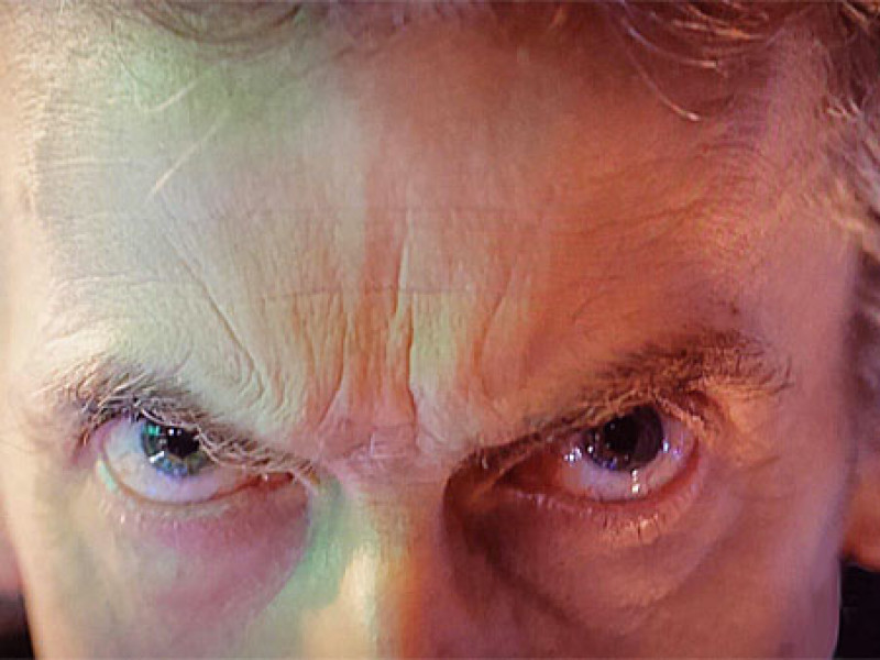 "Peter Capaldi's eyes – ""The Day of the Doctor"""
