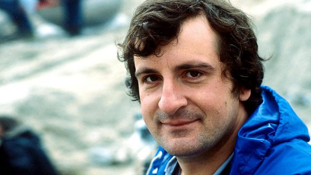 Douglas Adams on set (Pic: BBC)