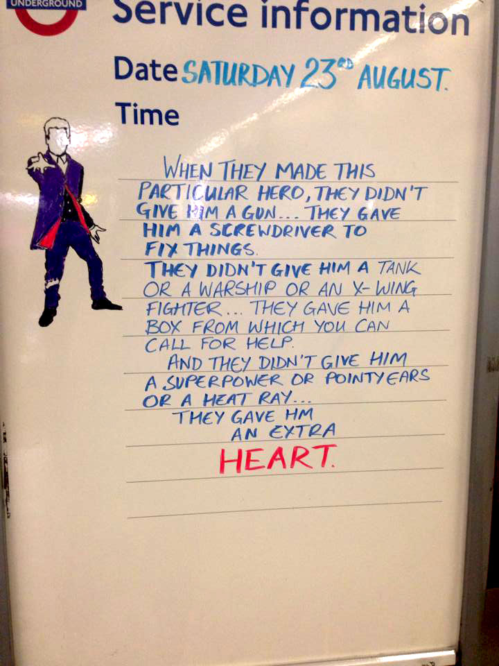 Doctor Who London Underground