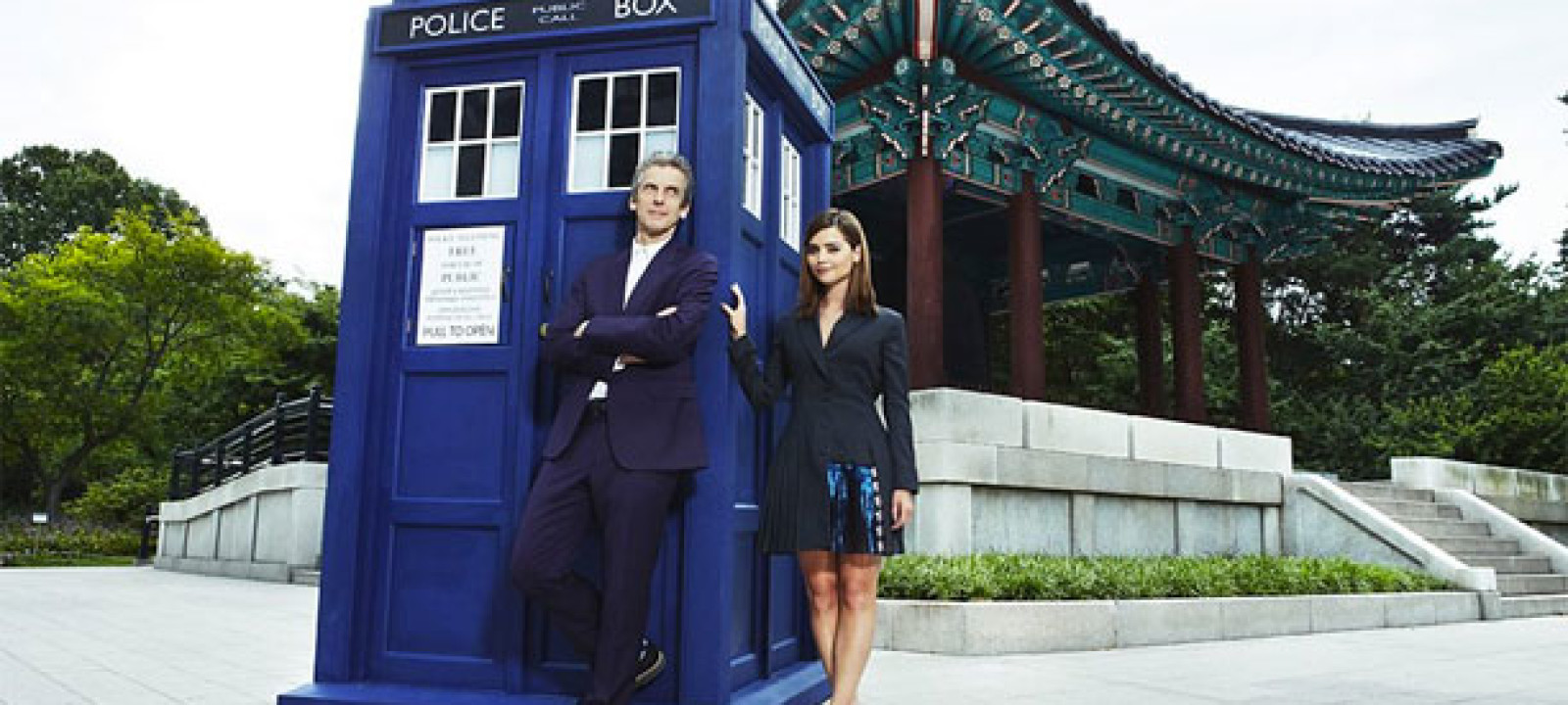Doctor Who in Seoul.