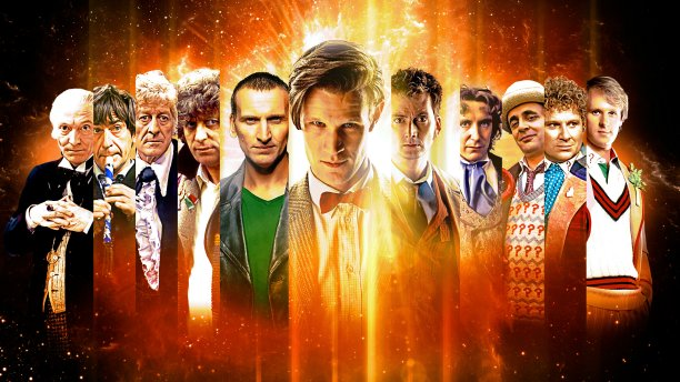 50 years of 'Doctor Who' are available to watch online (Pic: BBC)