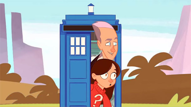 Doctor Who cartoon