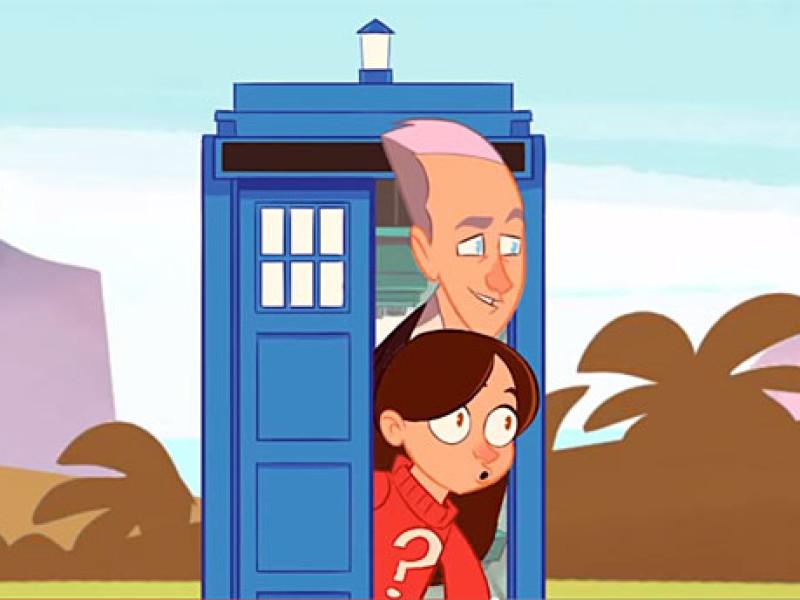 Doctor Who cartoon