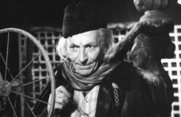 William Hartnell in 'An Unearthly Child' (Pic: BBC)