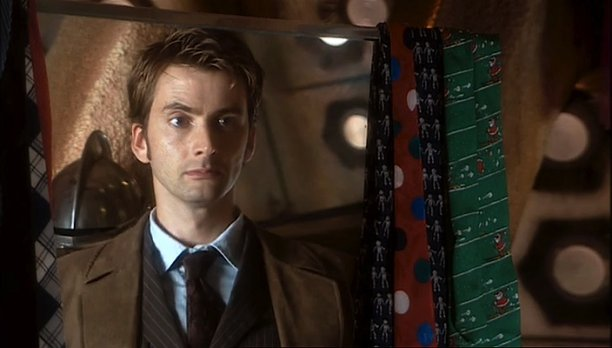 David Tennant in 'The Christmas Invasion' (Pic: BBC)