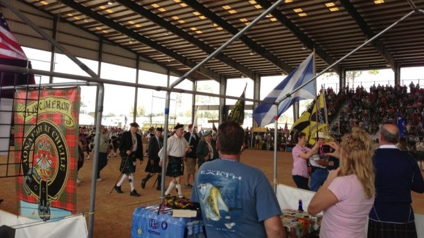 The Jacksonville Highland Games, pictured in 2013. (Facebook)