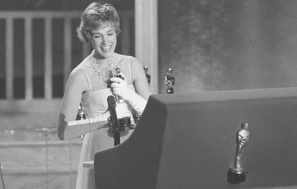 Her performance in Mary Poppins earned Andrews the Best Actress award at the 1965 Academy Awards. (AP)