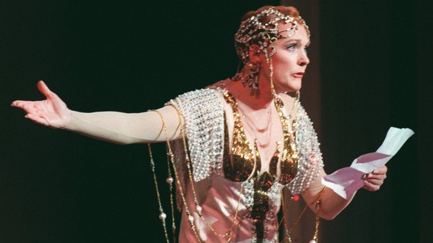 Andrews resumed her role in a Broadway adaptation of Victor/Victoria in 1995. Controversially, she refused a Tony Award nomination for Best Actress, in protest at the show receiving no other nominations. (Ed Bailey/AP)