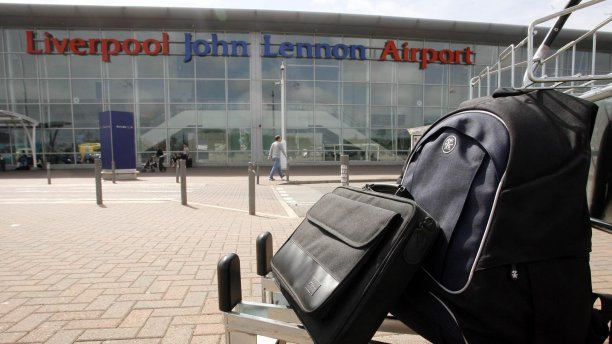 Liverpool John Lennon Airport, formerly known as Speke Airport, was named after the former Beatle in 2002 (Pic: Peter Byrne/PA)