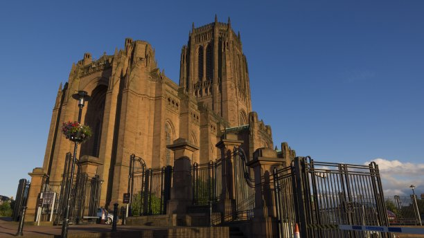 The cavernous Liverpool Cathedral is the longest cathedral building in the world, and has the fifth-largest overall volume. (Miguel Mendez/Wikimedia Commons)