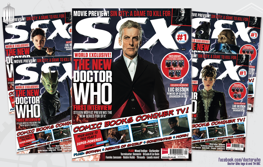 SFX Magazine, Doctor Who covers