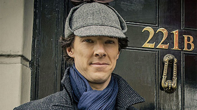 'Sherlock' and his deerstalker