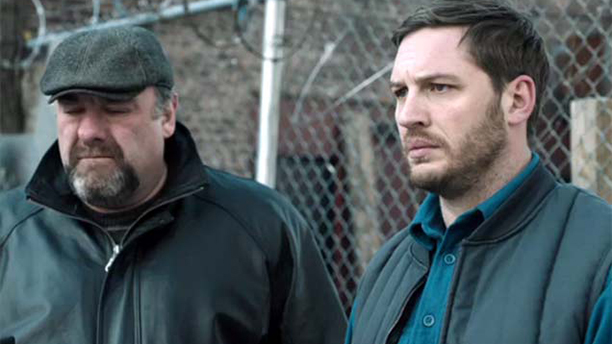 Tom Hardy starts opposite the late James Gandolfini in The Drop. (FOX)