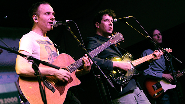 Belle & Sebastian at this year's Sundance film festival (Pic: Chris Pizzello/Invision/AP)