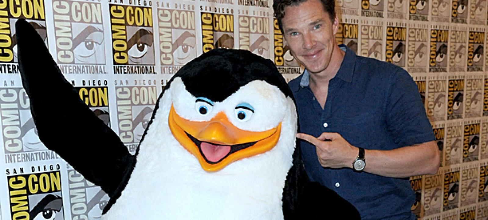 Benedict Cumberbatch and Penguin