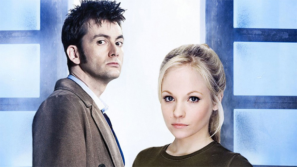 David Tennant and Georgia Moffett in Doctor Who (Pic: BBC)